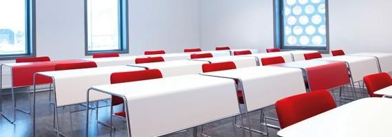 Tables de formation, mobilier pour salle de cours