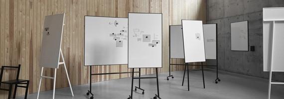Tableaux blancs, paperboard, effaçables et réutilisables