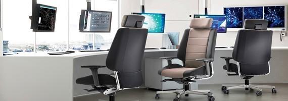 Fauteuil personne forte l'ergonomie pour tous au bureau