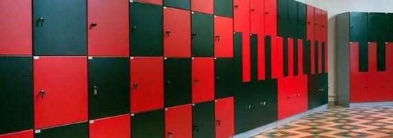 Vestiaires et casiers métalliques : toujours sécurisé