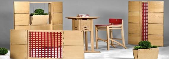 Claustras d'intérieur en bois et en PVC, claustra mobile
