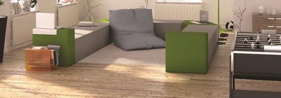 Mobilier espace détente: pause au travail et mobilier design