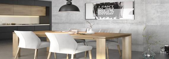 Tables de salle à manger, table extensible pour CHR et EHPAD
