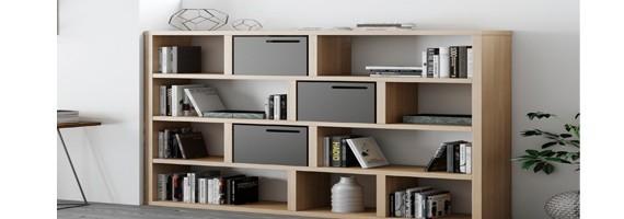 Bibliothèques de bureau:le choix économique