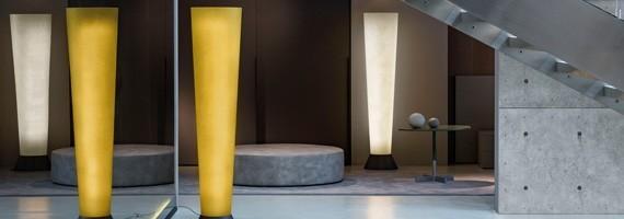 Lampes sur pied: éclairage indirect, luminaires design