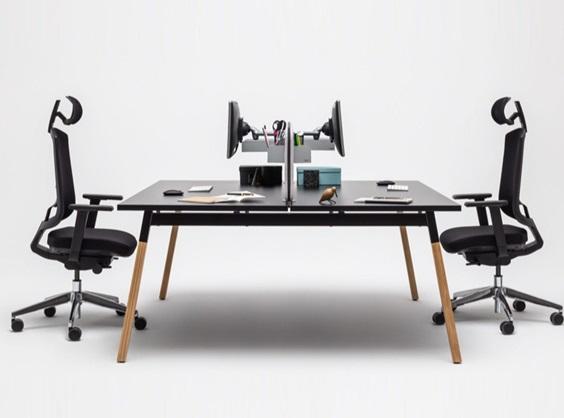 Bureau double open space
