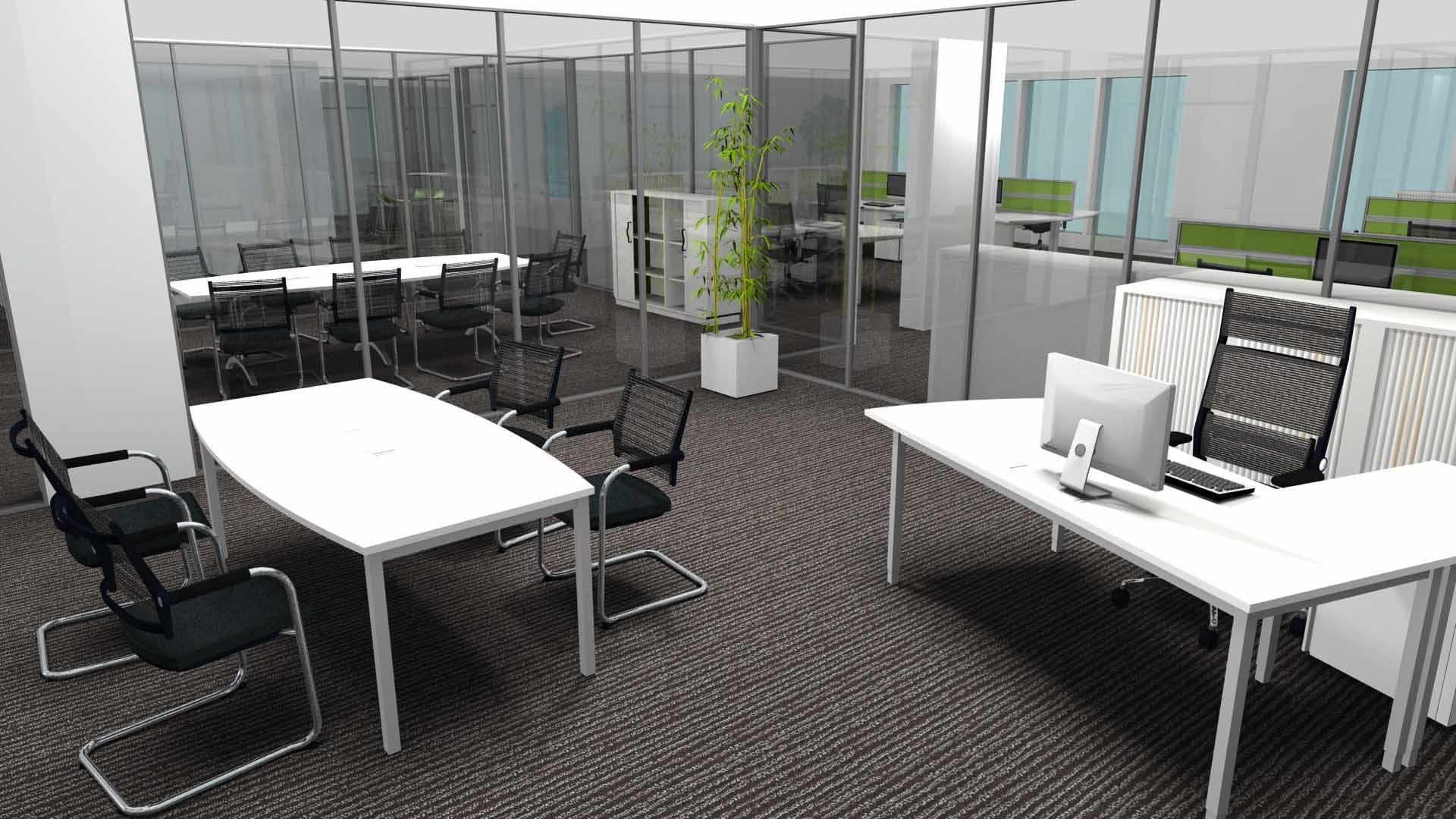 Prévisualisez vos espaces en 3D avec Autocad et Concept Bureau !
