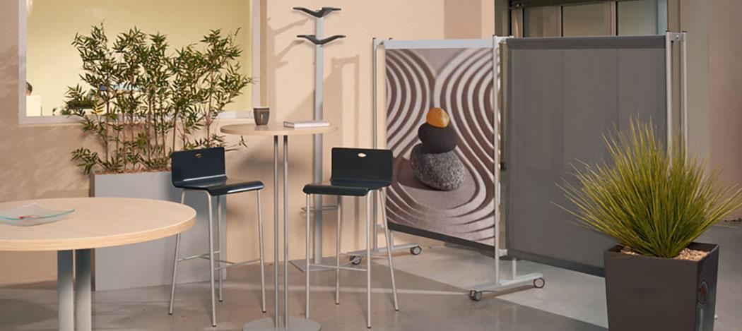 mobilier pour pause café