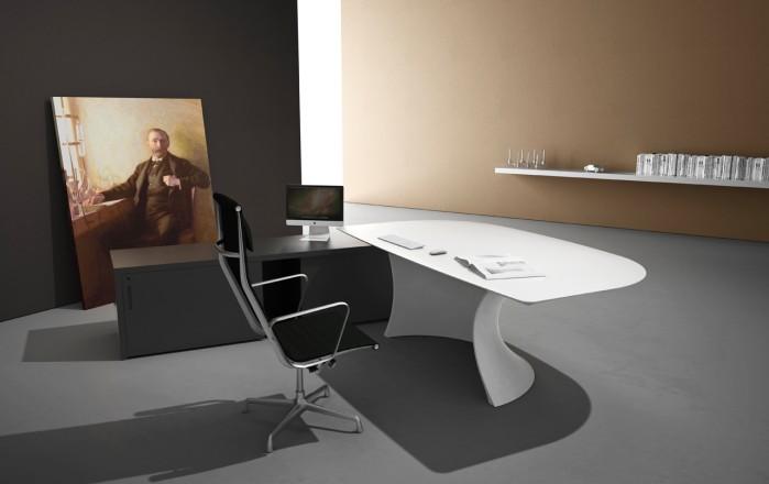 Bureau galerie d'art elegant