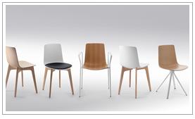 Siège et fauteuil design pour salle de restauration, de réunion, d'attente...