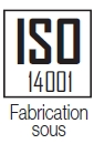 Fabrication sous ISO 14001