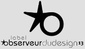 Label Observeur du Design 2013