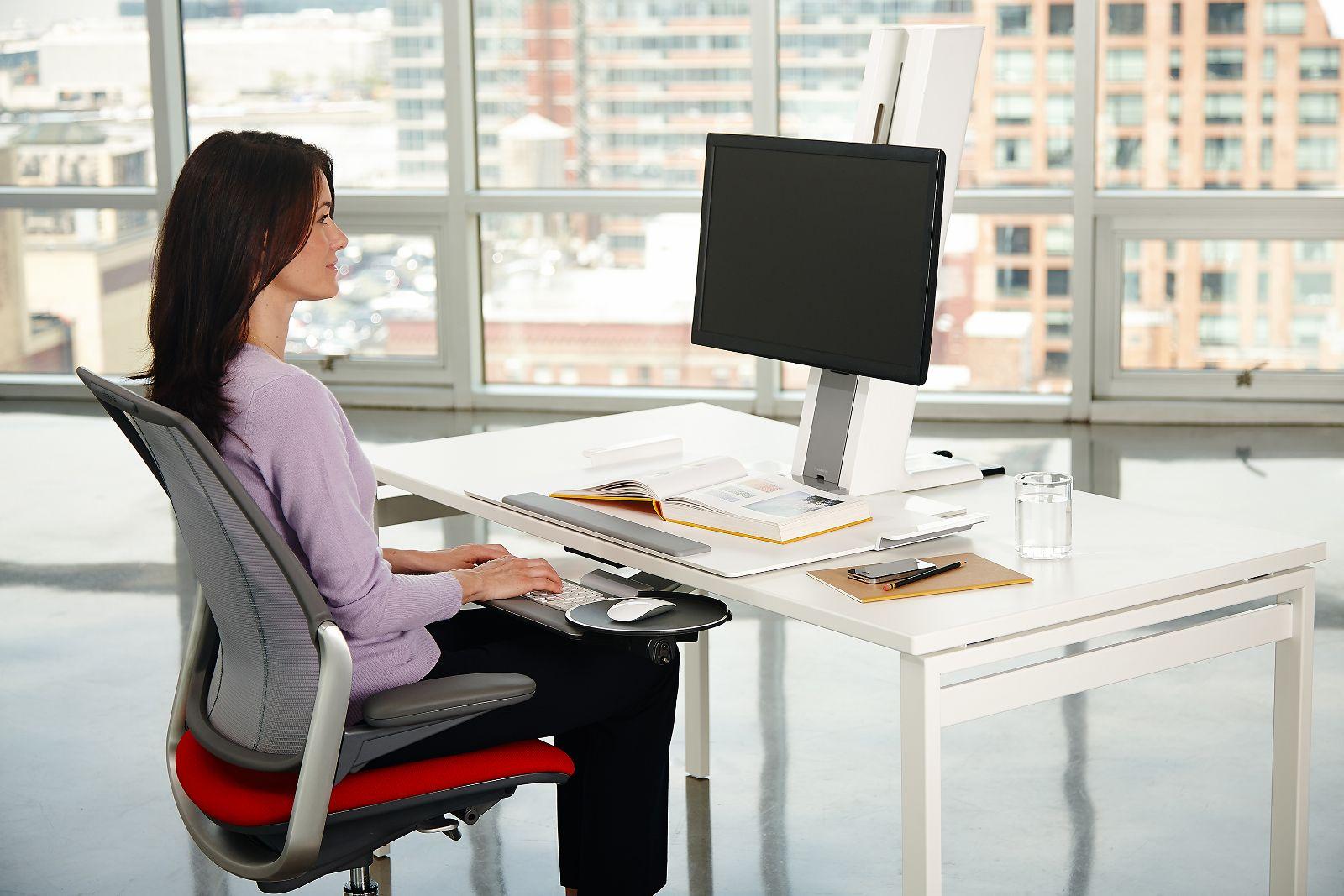 Support écran ergonomique - QUICKSTAND