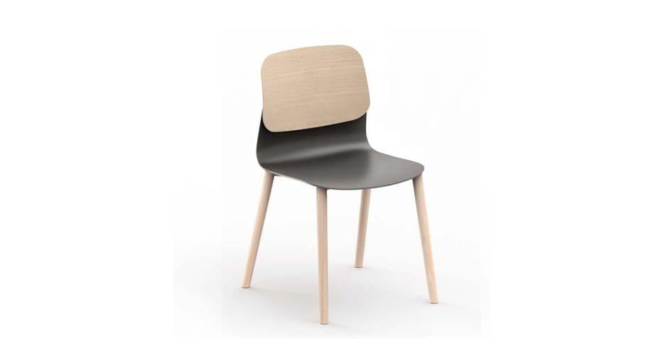 Chaise en polypropylène moderne