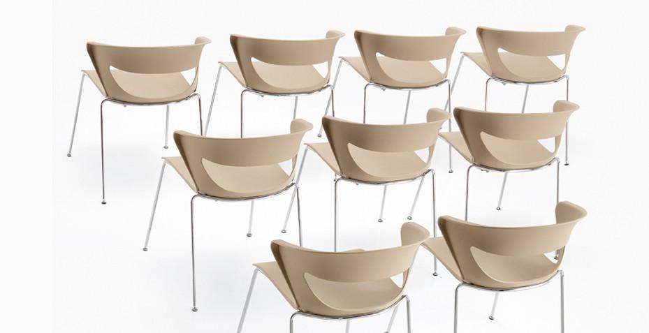 Chaise de conférence moderne