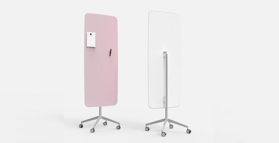 Découvrez notre tableau magnétique rose design