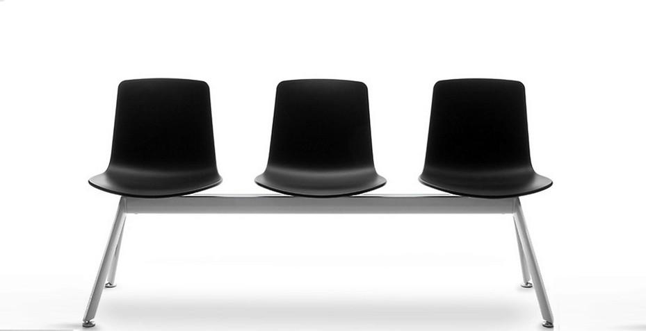Accueillez vos visiteurs avec nos sièges sur poutre de la gamme YASMA