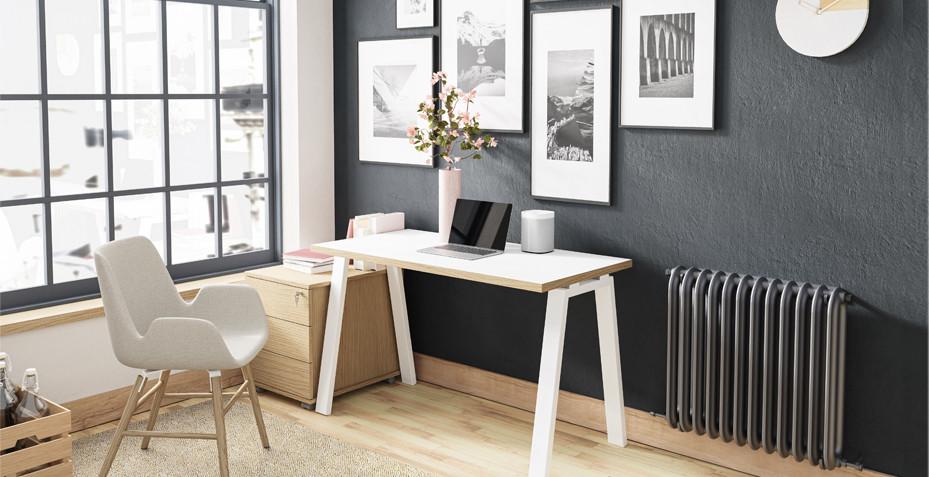 bureau design, télétravail, siège de bureau, scandinave