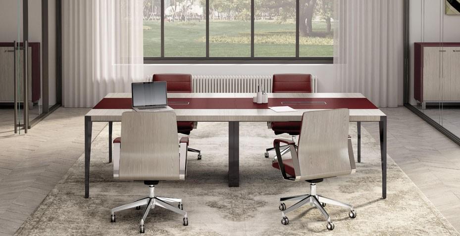 Mobilier et table de réunion professionnelle