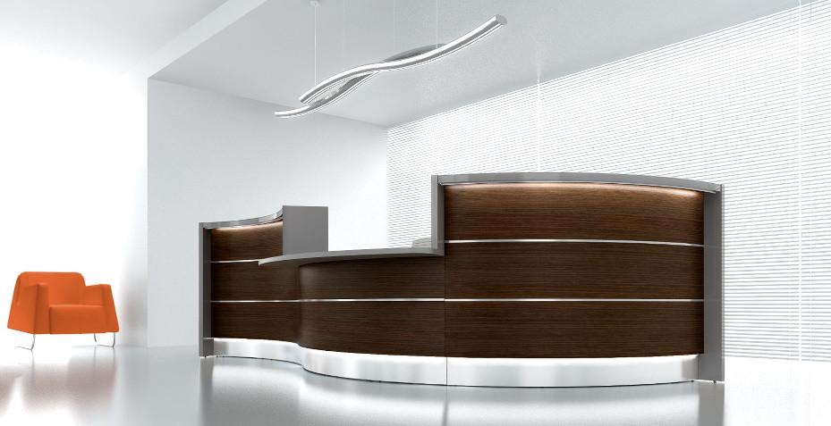 banque d'accueil, banque d'accueil modulaire, comptoir pour magasin, comptoir d'accueil, pmr, accueil