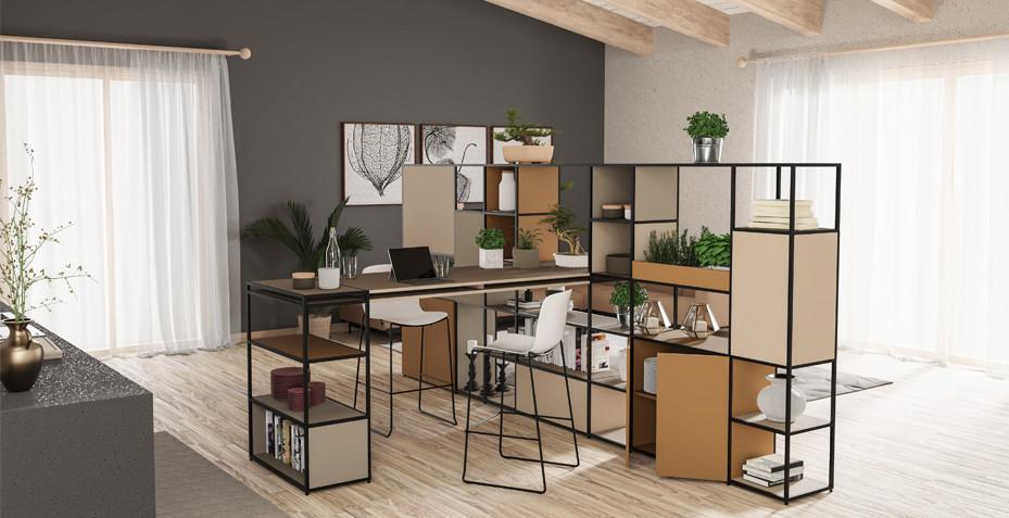 travail a la maison, chaise haute, tabouret, rangement, design