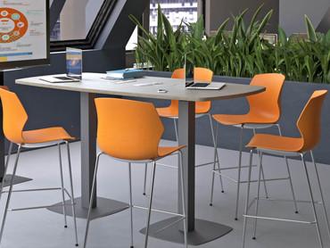 Table de réunion haute moderne