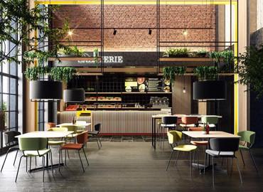Mobilier hôtellerie, restauration et cafétéria